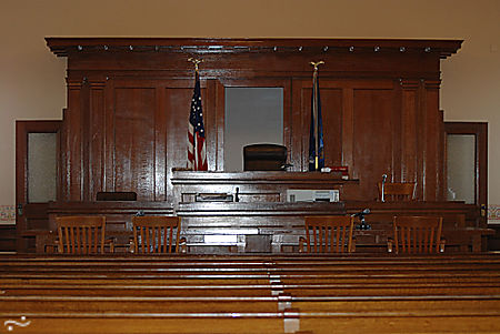 Judge bench